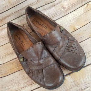 Cobb Hill Shoes Brown Slip On Flats
